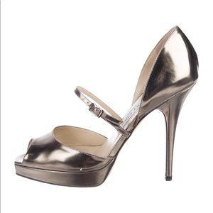 Jimmy Choo peep toes heels